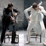 CM「ドコモのツートップ(Xperia A / GALAXY S4)」の曲「影武者 / 2CELLOS(チェロ演奏)」