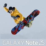 CM「GALAXY Note 3 スノーボード平岡卓」の曲「CMオリジナル曲」