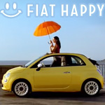 CM「FIAT フィアット 500」の曲「HAPPY(ハッピー)/ Pharrell Williams(ファレル・ウィリアムス)」
