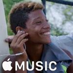 CM「Apple Music」の曲「freedom(フリーダム)/ Pharrell Williams(ファレル・ウィリアムス)」